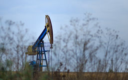 Active oil and gas rig Stock Images