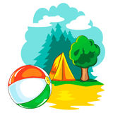 Active outdoor recreation Royalty Free Stock Images