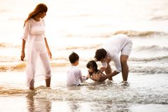 Active parents and people outdoor activity on summer vacations a royalty free stock photo