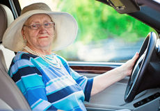Active pensioner Royalty Free Stock Image