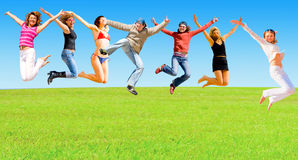 Active people Royalty Free Stock Photography