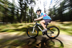 Active people biking Stock Images