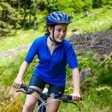 Active people biking Royalty Free Stock Photo