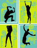 Active people vector Royalty Free Stock Image