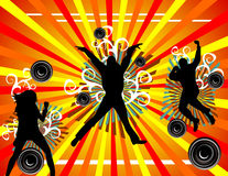 Active people vector Royalty Free Stock Photography