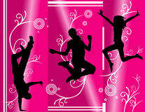 Active people vector Royalty Free Stock Photo