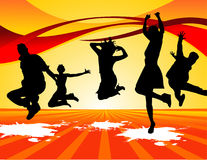 Active people vector Stock Images