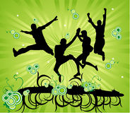 Active people vector Stock Photography