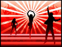 Active People Vector Stock Photo