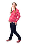 Active pregnancy Stock Images