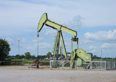 Active pumpjack Royalty Free Stock Photography