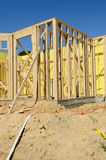 Active residential construction site Stock Photography