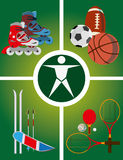 Active rest icon - Vector illustration Stock Image