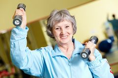 Active retirement Royalty Free Stock Photography