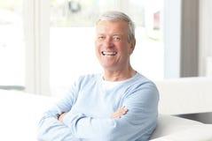 Active senior businessman portrait Royalty Free Stock Photo