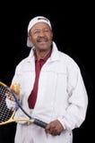 Active senior citizen stock photography