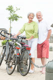 Active senior couple Royalty Free Stock Photo