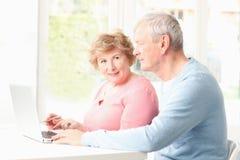 Active senior couple Stock Image