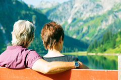 Active Senior Couple Royalty Free Stock Photos