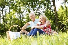 Active senior couple Royalty Free Stock Photos