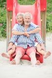 Active senior couple Stock Images