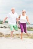 Active senior couple Stock Photo
