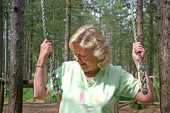 Active Senior Female Royalty Free Stock Photo