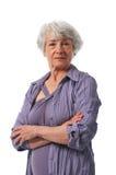 Active Senior lady Royalty Free Stock Photography