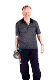 Active senior man Royalty Free Stock Images