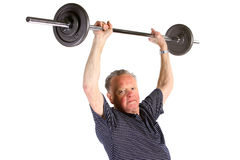 Active senior man Stock Images