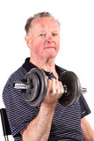 Active senior man Stock Photos