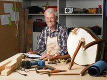 Active senior man portrait Stock Photography
