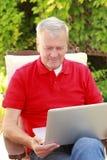 Active senior man portrait Royalty Free Stock Image