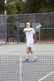 Active Senior Man - Tennis Stock Photos
