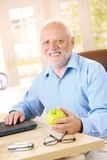 Active senior smiling at home Royalty Free Stock Photos