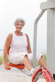 Active senior woman Royalty Free Stock Photo