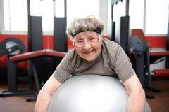 Active senior Stock Photo