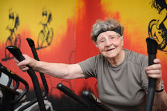 Active senior Royalty Free Stock Images