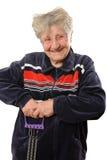 Active senior Royalty Free Stock Image