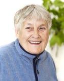 Active senior woman portrait Stock Images