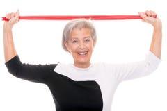Active senior Royalty Free Stock Photo