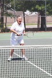 Active Senior Woman - Tennis Royalty Free Stock Images