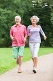 Active seniors Stock Image