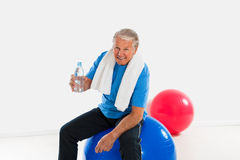 Active seniors Stock Photography