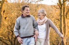 Active Seniors Stock Photo