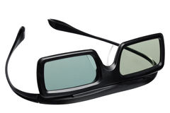 Active shutter glasses Stock Images