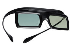 Active shutter glasses Royalty Free Stock Photography