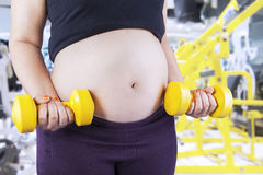 Active and sportive pregnancy concept 3 Stock Photos