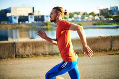 Active sportsman Stock Photography