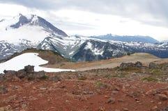 Active stratovolcano Mount Garibaldi Royalty Free Stock Image
